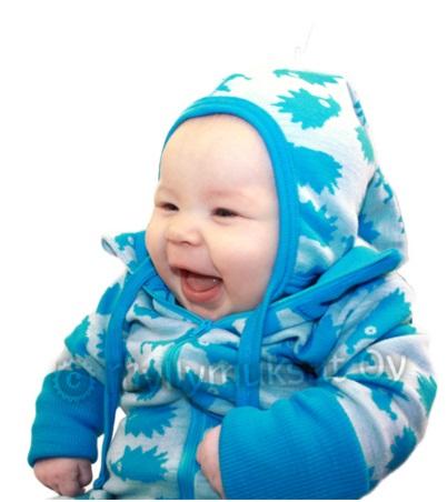 Myllymuksut Bonnet Funny Hérisson Turquoise