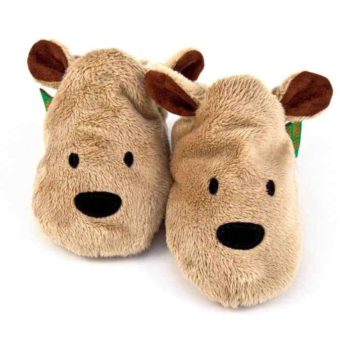 FunkyFeet Chaussons Brown Bear