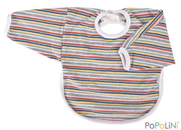 Bavoir-manches-multicolor-Popolini