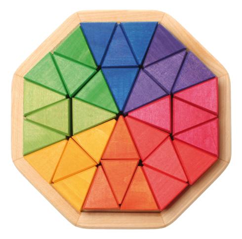 Puzzle Octogone 32 blocs triangulaires GRIMMS