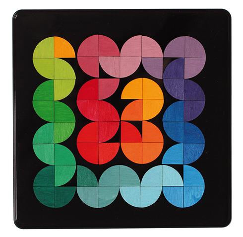 Puzzle magnétique Demi-cercles GRIMMS