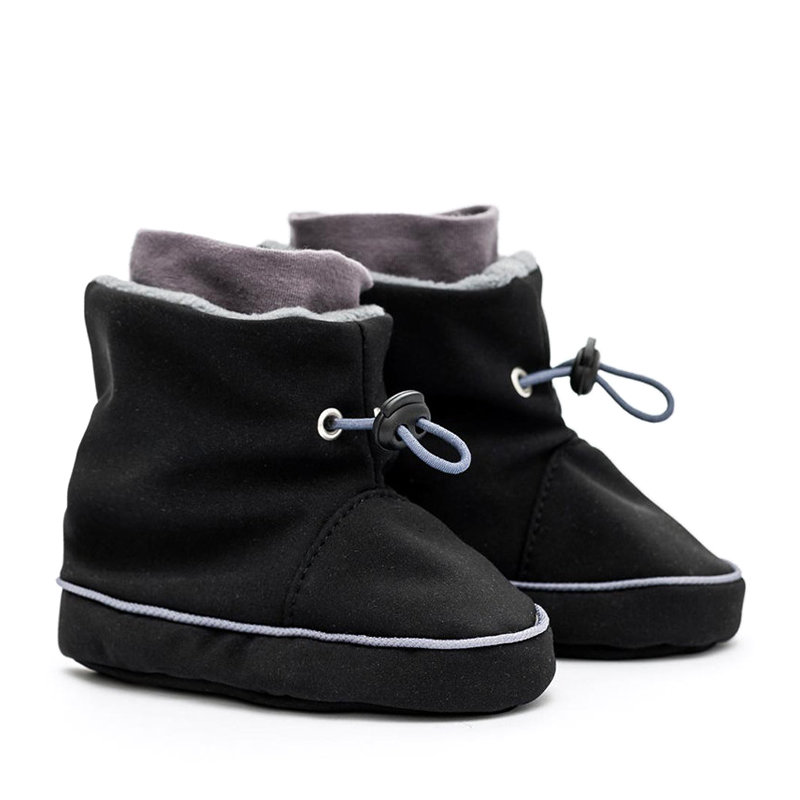 Bottines de portage Black-Grey Liliputi