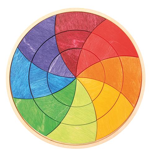 Puzzle petite roue de couleurs Goethe GRIMM\'s