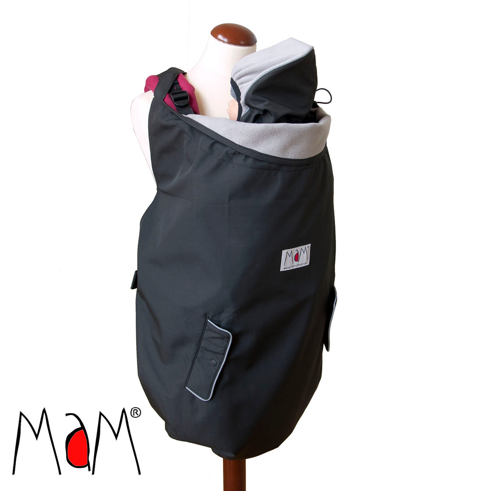MaM Couverture de portage Flex Deluxe Black/Black