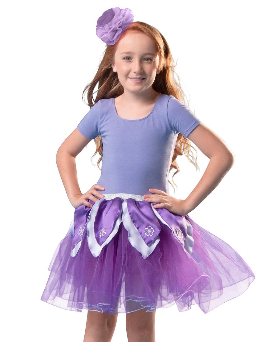 Tutu fleur violet/lavande Dreamy Dress Ups