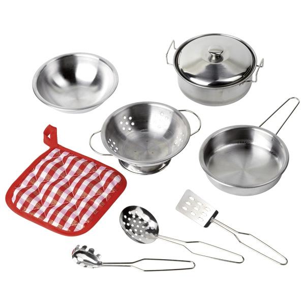 Set de cuisine en métal dînette GOKI