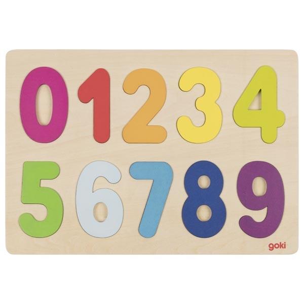 Puzzle de 0 à 9 GOKI