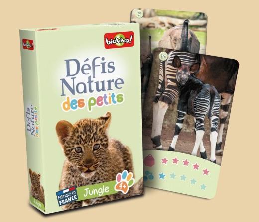 Bioviva Défis nature des petits - Jungle