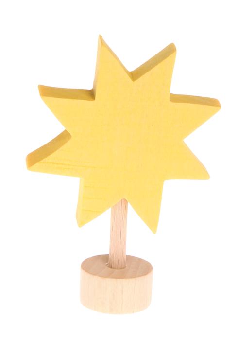 Figurine en bois étoile GRIMM\'s