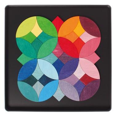 Puzzle magnétique des 5 cercles GRIMM\'s