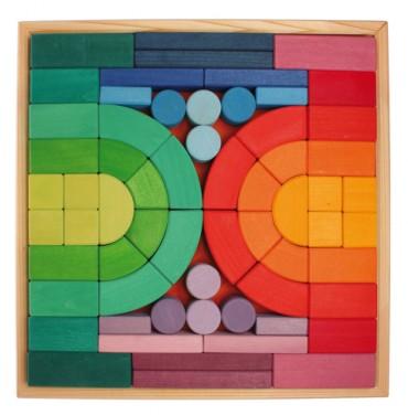 Gros blocs de constructions Architecture Romane 62 pièces GRIMM\'s