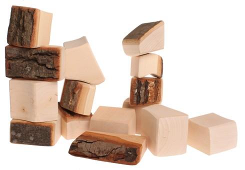 15 morceaux de bois avec écorces GRIMM\'s
