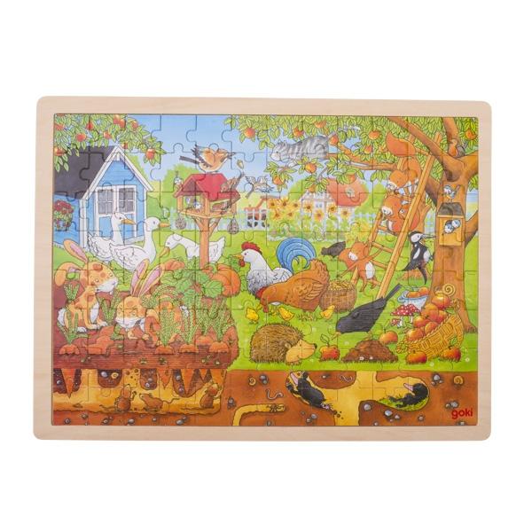 Puzzle Notre jardin GOKI