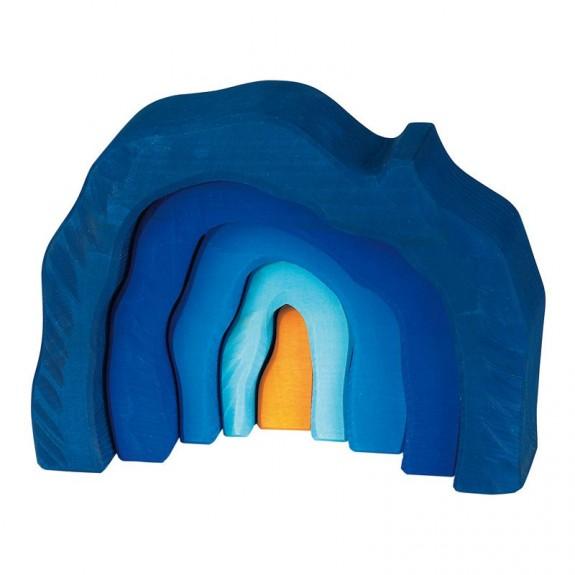 Grotte bleue - 5 pièces Glückskäfer