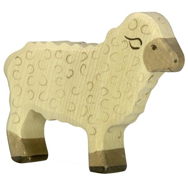 Mouton debout Holztiger