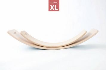 Wobbel XL Planche d\'équilibre extra grande! Feutre Framboise