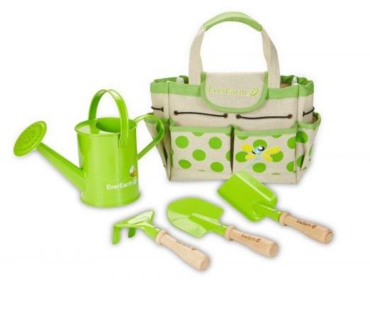 Set de jardinage avec sac et outils EverEarth