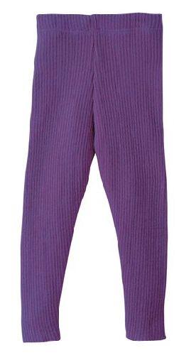 Leggings en laine tricoté Prune Disana