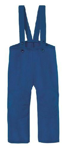 Pantalon en laine bouillie Bleu Marine Disana