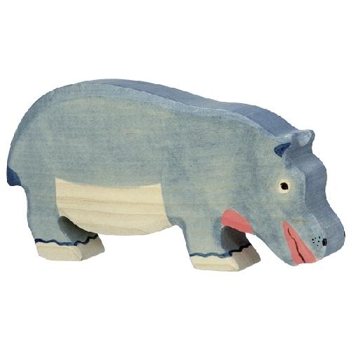 Hippopotame mangeant Holztiger