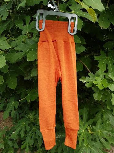 Pantalon Orange Cosilana - Laine/Soie
