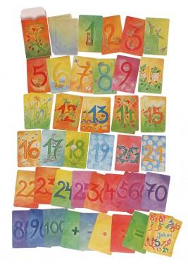 48 Cartes des Chiffres & Calculs Grimm\'s - Set complémentaire