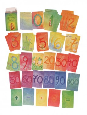 48 Cartes des chiffres et Calculs Grimm\'s