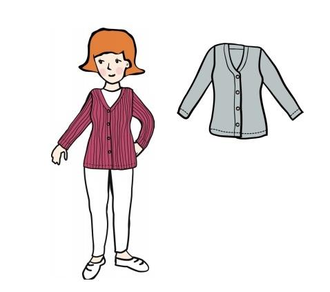 MaM Cardigan en laine pour femme - différents coloris