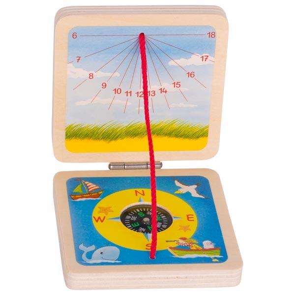 Cadran solaire de poche Peggy Diggledey GOKI