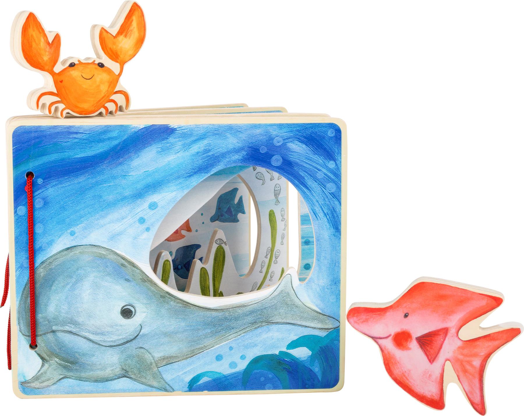 Livre d\'images Monde sous-marin Small Foot