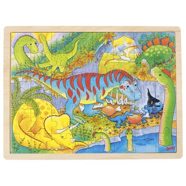 Puzzle en bois Dinosaure Goki