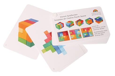 Livre de modèles du puzzle créatif carré Grimm\'s