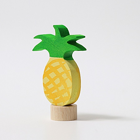 Figurine en bois Ananas Grimm\'s