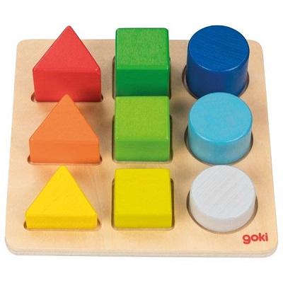 Puzzle Assortir les formes et les couleurs Goki