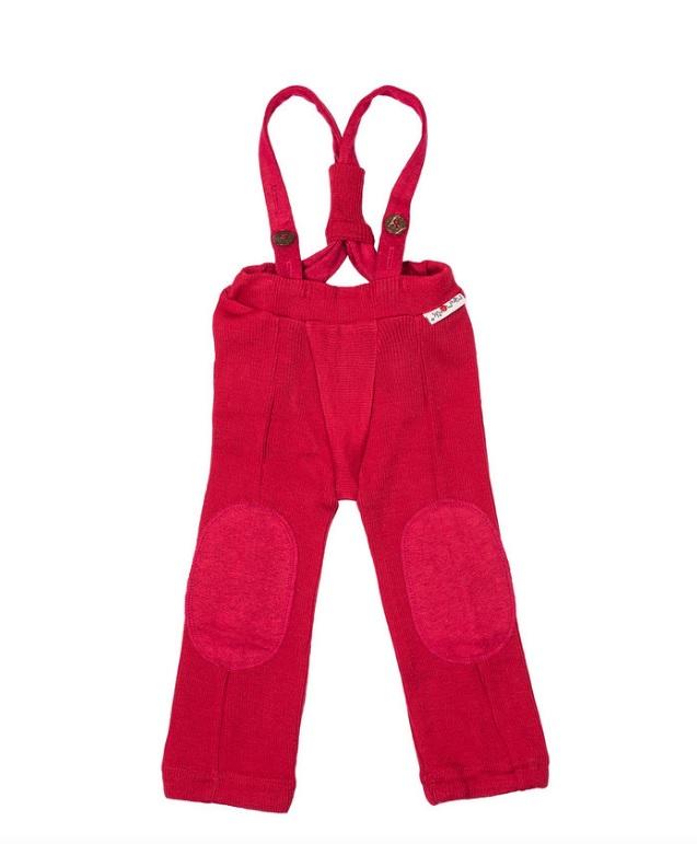 ManyMonths Hazel Pants à bretelles en laine -différents coloris