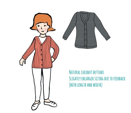 MaM Cardigan Femme en laine - différents coloris