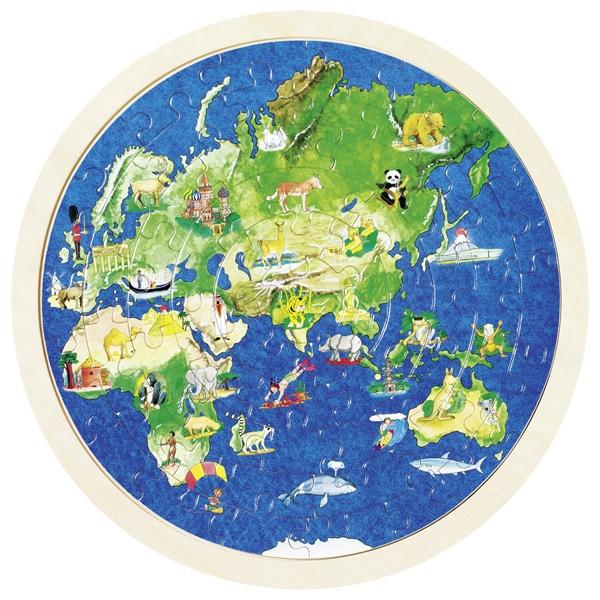 Puzzle globe terrestre GOKI