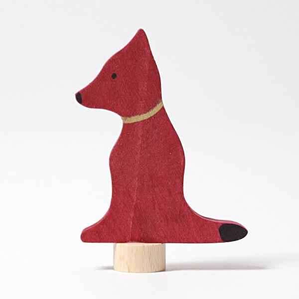 Figurine en bois Chien Grimm\'s