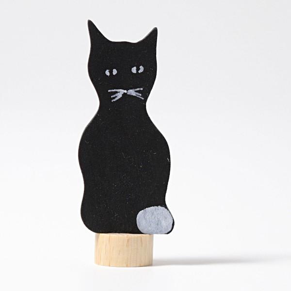 Figurine en bois Chat noir Grimm\'s