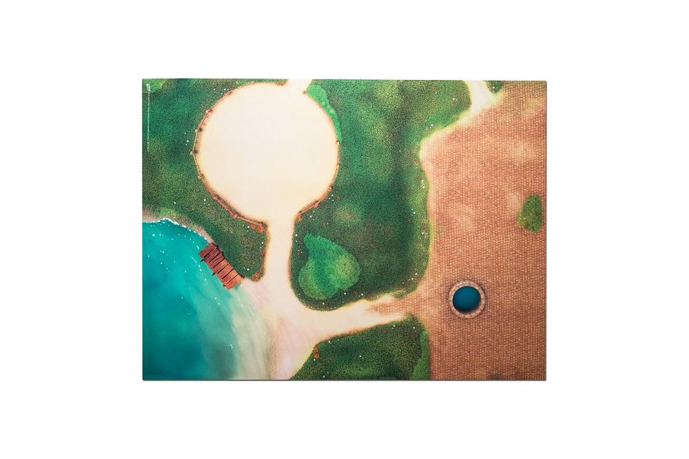Tapis de jeu Carpeto Centre équestre 120 x 90 cm