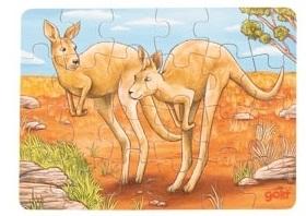 Mini-puzzle kangourou GOKI