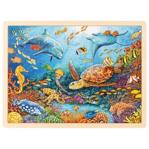Puzzle Grande barrière de Corail 96 pièces GOKI