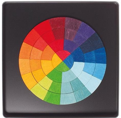Puzzle Magnétique Cercle des couleurs GRIMMS