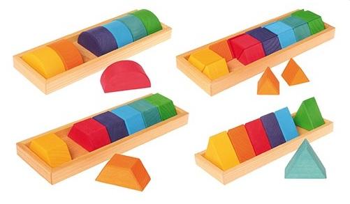 Construction formes et couleurs, Lot 2 GRIMM\'s