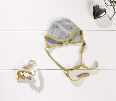 Cosilana bonnet bébé béguin différents coloris - Laine/soie
