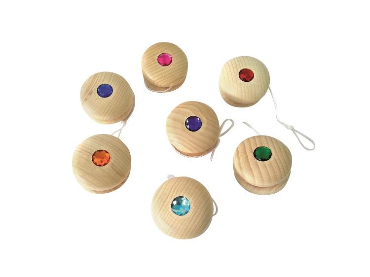 Yo-yo en bois Bauspiel