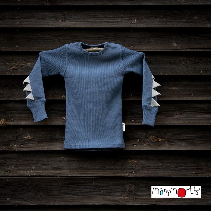 ManyMonths T-shirt Dino en laine - coloris 2020