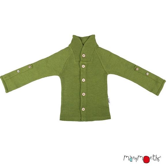 ManyMonths Gilet col boutonné en laine - coloris 2020