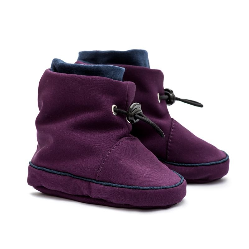 Bottines de portage Liliputi Blue Plum