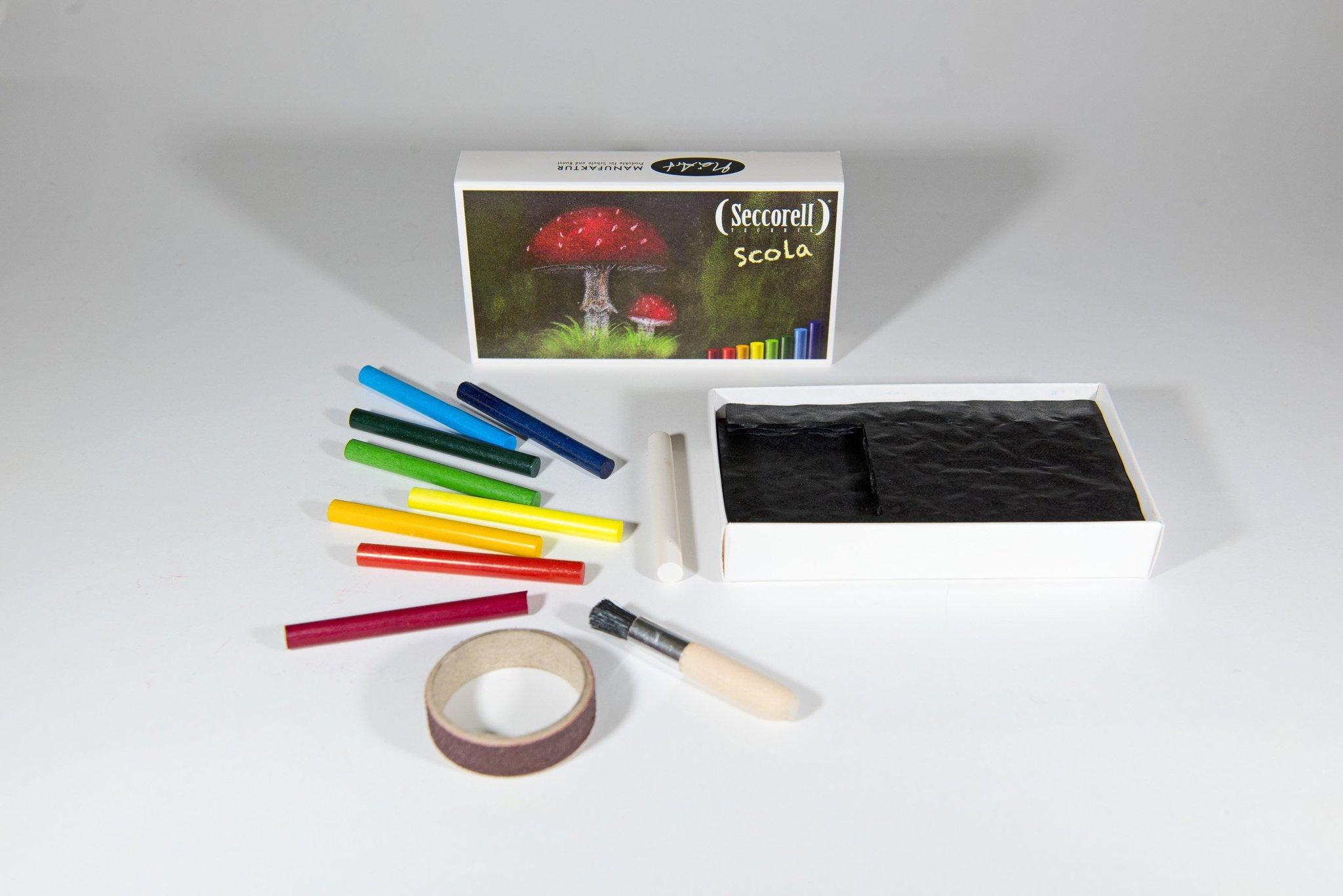 Bâtonnets de pigments Scola de Seccorell